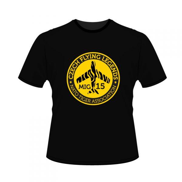 men_Tuger_black_front_t-shirt